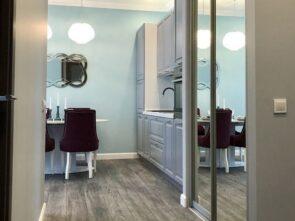 заказать дизайн проект визуализация ванна квартира студия в москве